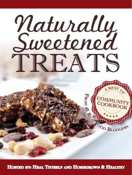 Cover of Naturally Sweetened Treats cookbook