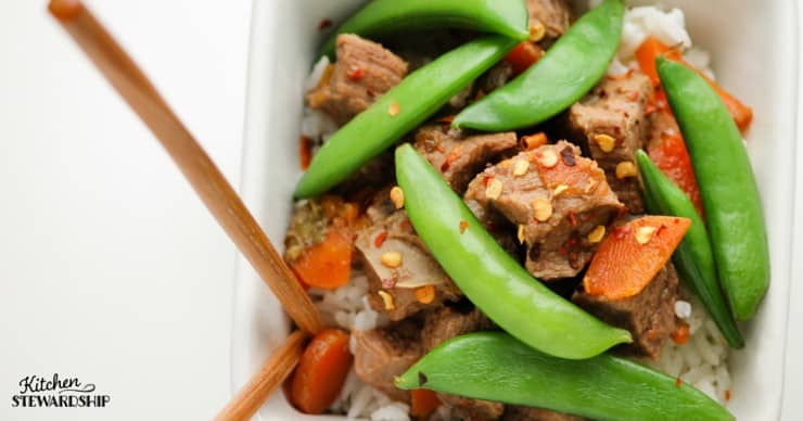 Slow Cooker Ginger Beef