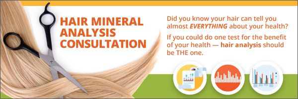 Get a hair analysis today to learn about your health!