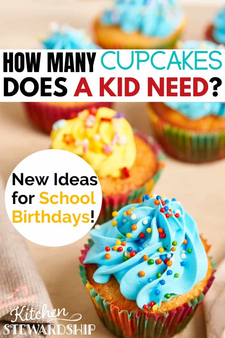 How many cupcakes does a kid need?