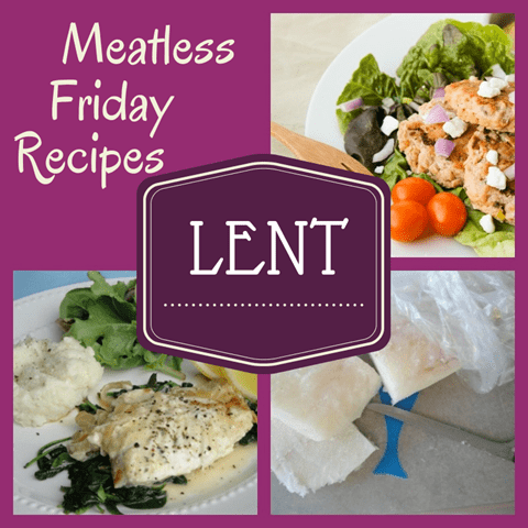 Meatless Recipes for Lent