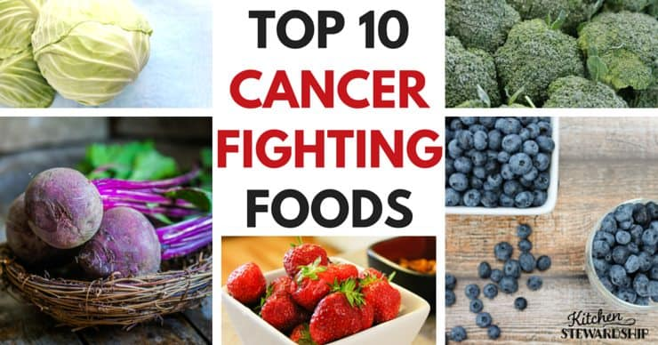 Top 10 Cancer Fighting Foods. Yes, food does impact your health. Eat these cancer-fighting fruits and vegetables to reduce risk of cancer, slow growth of tumors and build your body's defenses if you're currently battling cancer.