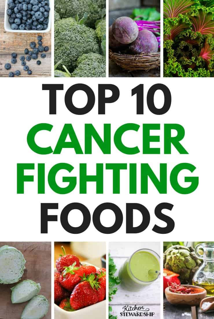 TOP 10 CANCER FIGHTING FOODS