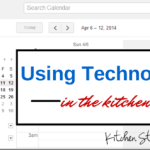 Monday Mission: Use Technology to Make Kitchen Life Easier