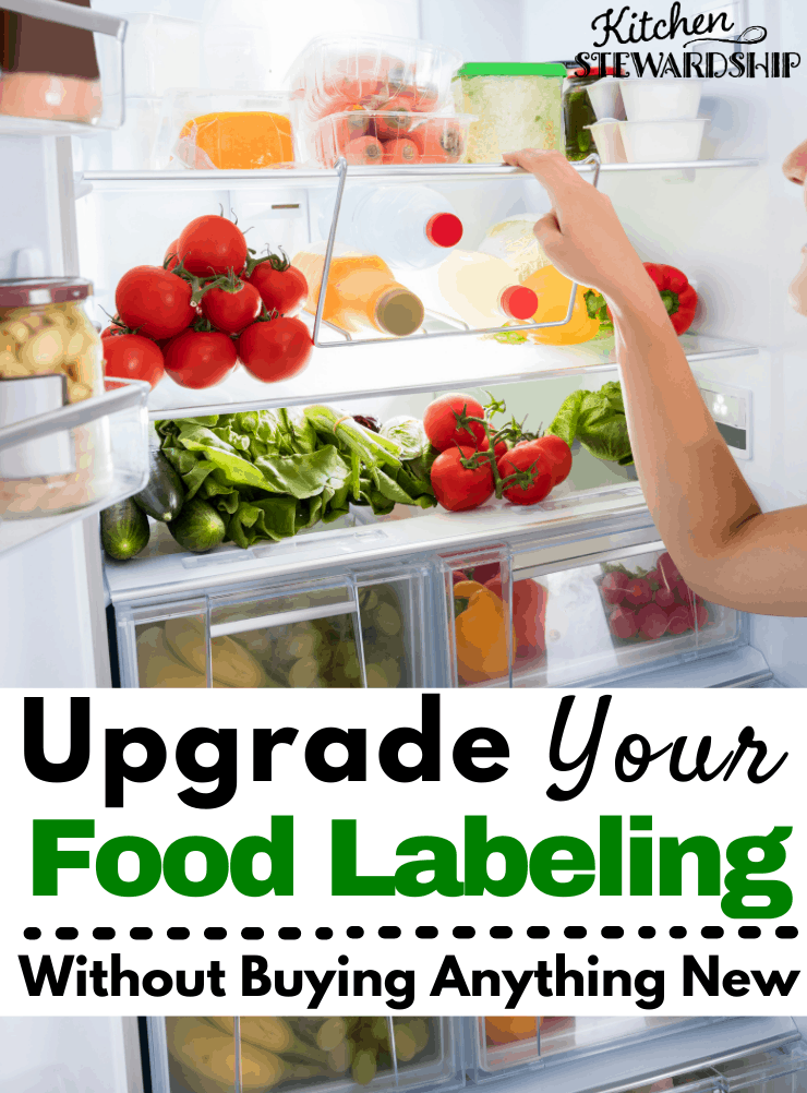 upgrade your food labeling