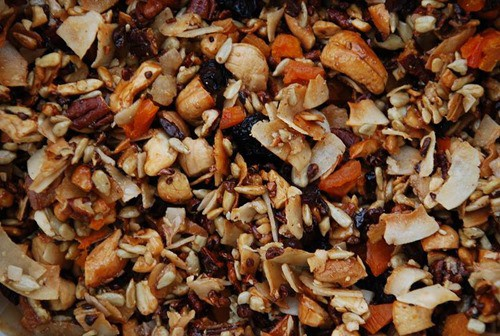 Grain free granola trail mix