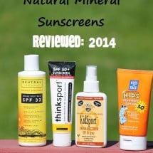 4 New Natural Mineral Sunscreen Brands–What Made the Cut???
