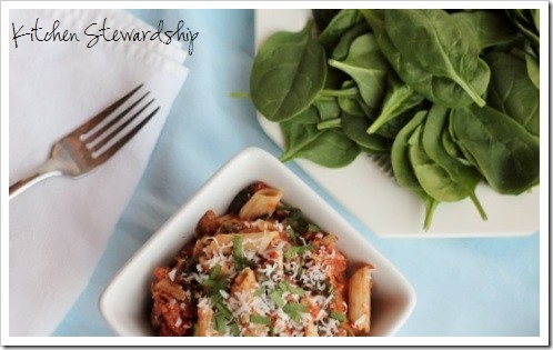 Sausage Spinach Pasta Toss (11) (500x333)