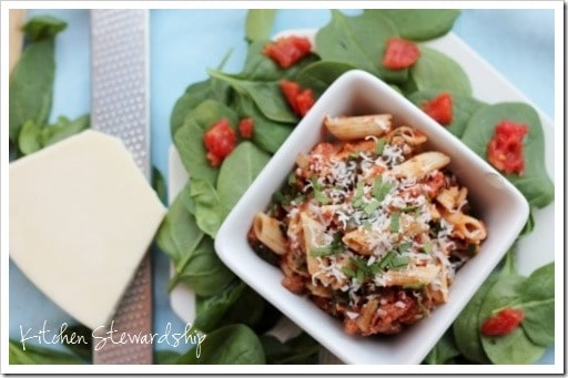 Sausage Spinach Pasta Toss (17) (500x333)