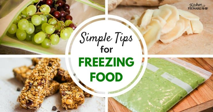 simple tips to keep in mind to freeze food like a pro