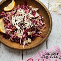 Recipe Connection: Cancer-Fighting Red Cabbage Slaw Salad