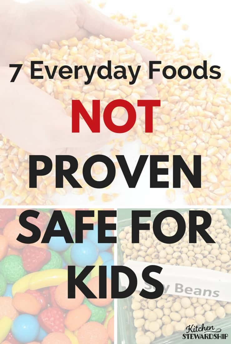 Do you know what the research says about foods your kids probably eat regularly? Unknown is scary enough, this is often worse. 7 foods not proven safe for kids -- a must read