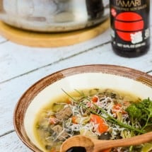 Cancer Fighting Vegetable Soup Recipe with an Asian Twist