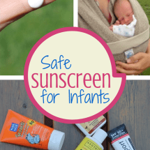 Is There a Safe Sunscreen for Infants?