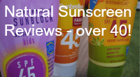 Natural Sunscreen Reviews