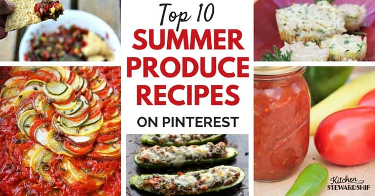 Find easy seasonal recipes all in one spot for making tonight's dinner fresh and delicious. Lots of DIY preservation tips will give you summer all year long for whatever fruits and vegetables you have.
