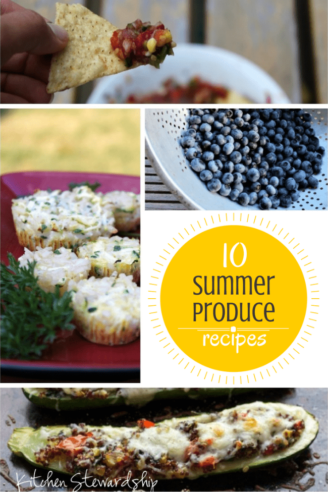 Top 10 Summer Produce Recipes on Pinterest