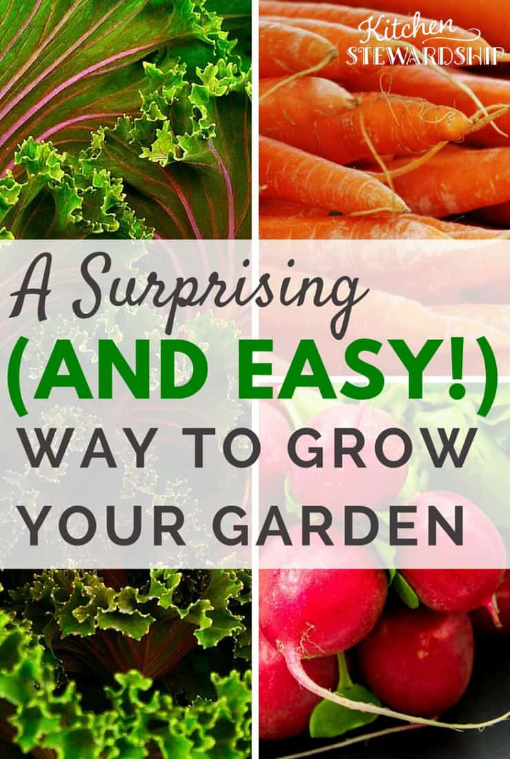 Grow your garden with this surprising and easy way!