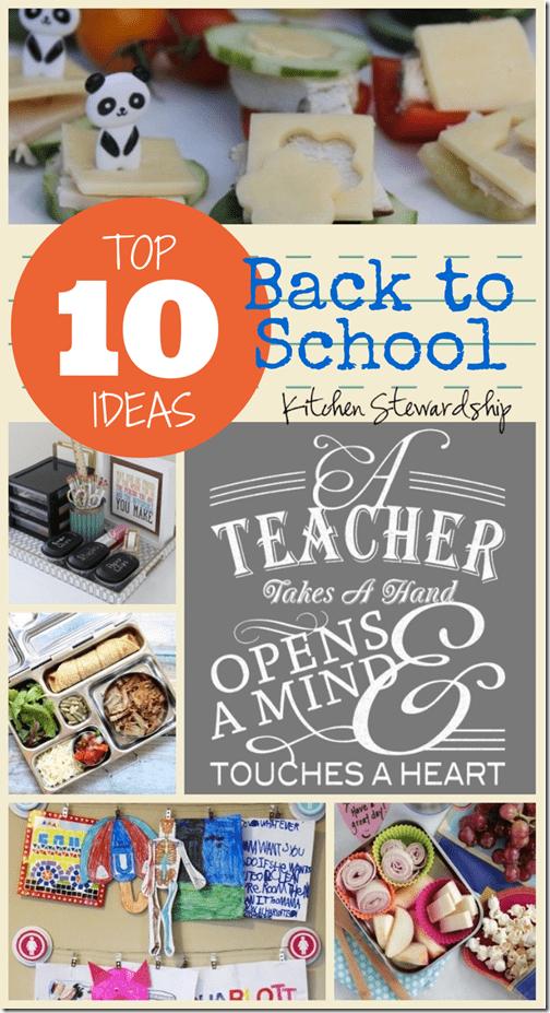 Top 10 Back to School Ideas on Pinterest