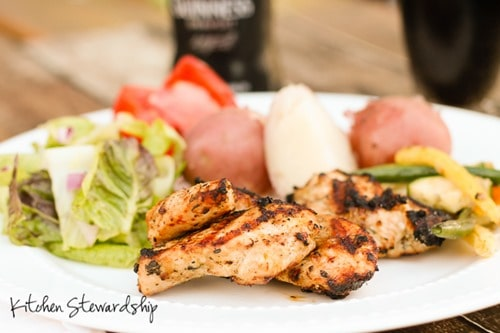 Dark Beer Marinade Recipe with Chicken