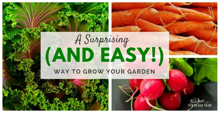 How to Grow Your Garden with this Surprising and Easy Way - Use this Secret, Natural Way