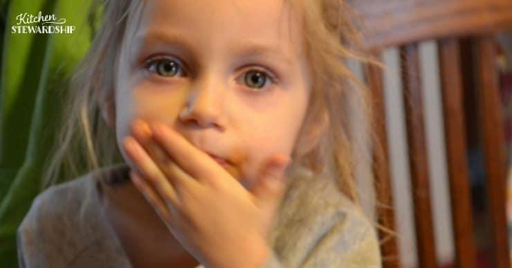 picky eater little girl