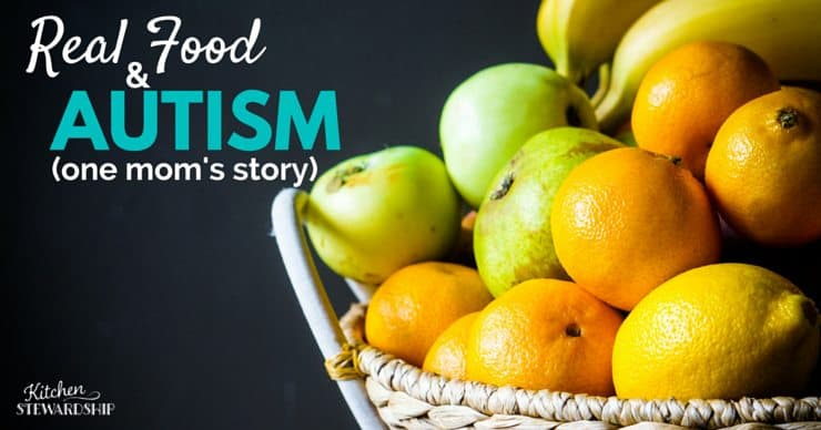 Yes, food helps! Tips and real-life experience of how taking baby steps to a real food diet can have measurable behavior differences in children diagnosed with Autism Spectrum Disorder.
