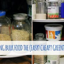 The Secret to Storing Bulk Food {YOUR} Way (& a peek into my basement)