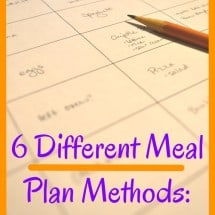 Monday Mission: Choose a Meal Plan Method (and Why Thematic Planning Saved Our Dinner)