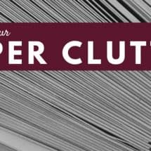 Organizing Your Kitchen: 7 Kinds of Paper Clutter (& Some Friendly Disagreement) {GUEST POST}