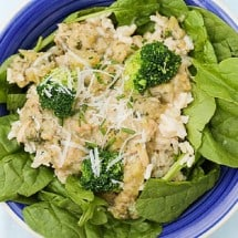 Gluten-Free, Protein-Packed White Sauce with Chicken and Rice Recipe