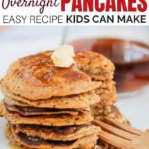 Easy Whole Grain Gluten-Free Pancakes Recipe