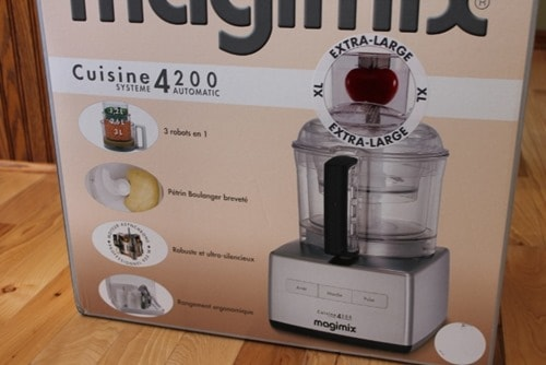 Magimix Food Processor arrives