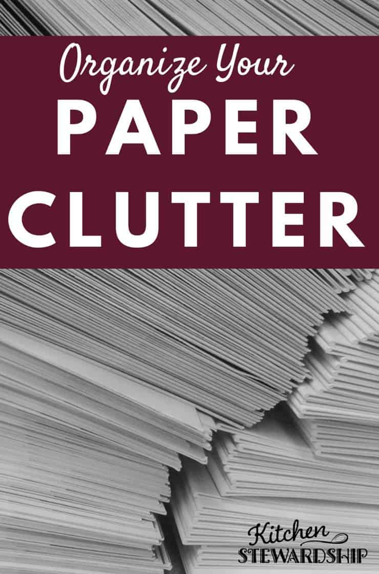 Whether it is mail or kids' artwork and school papers, we all have tons of paper cluttering our counters and tables. Find great tips to get organized in no time!