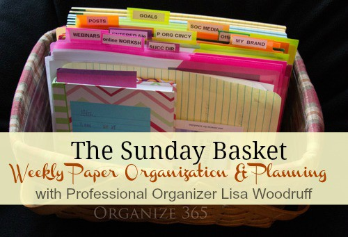 Weekly Sunday Basket pic