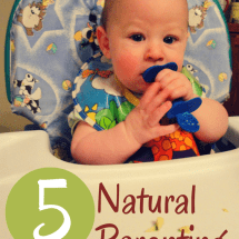 Keep Baby Safe and Healthy with 5 Simple Natural Parenting Goals