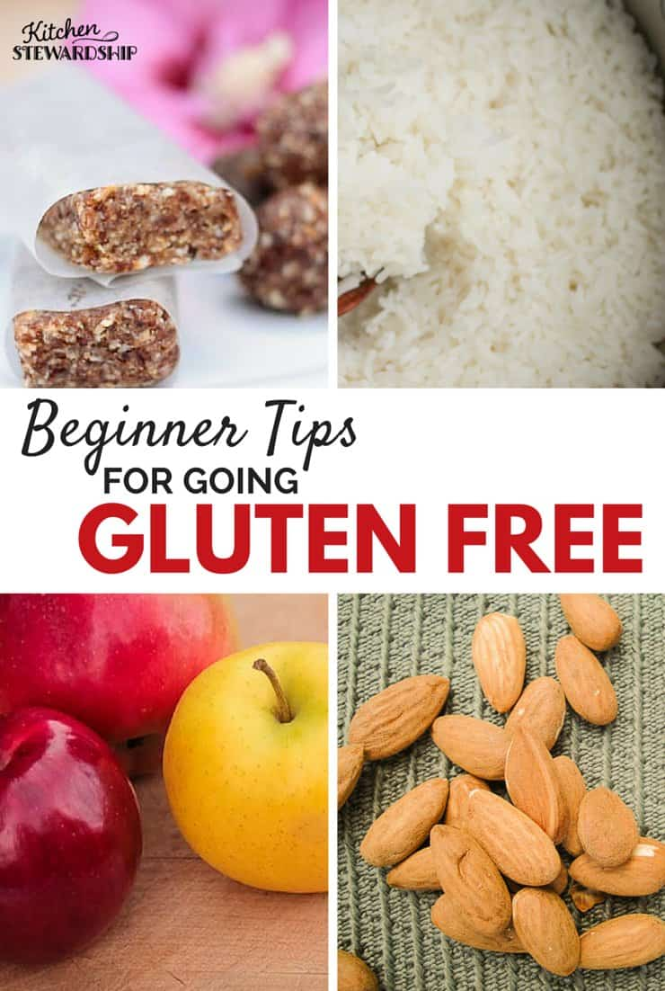 Beginner Tips for going gluten free