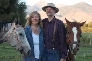 Caryl and Glenn Elzinga from Alderspring Ranch