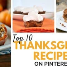 Top 10 Thanksgiving Recipes on Pinterest