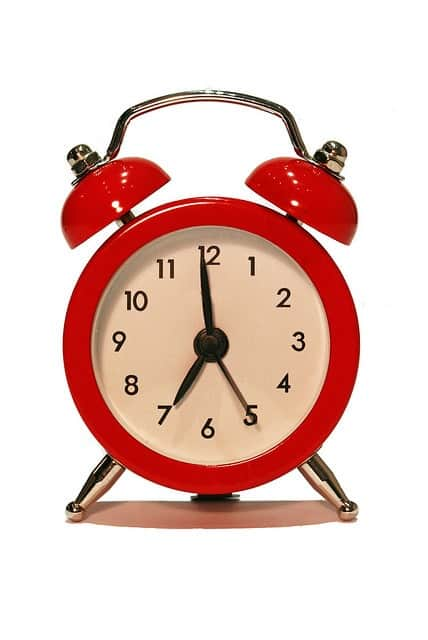 Stop watching the clock when you have a newborn... throw out the schedules!