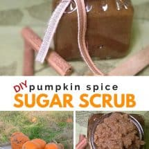 DIY Pumpkin Spice Sugar Scrub Recipe