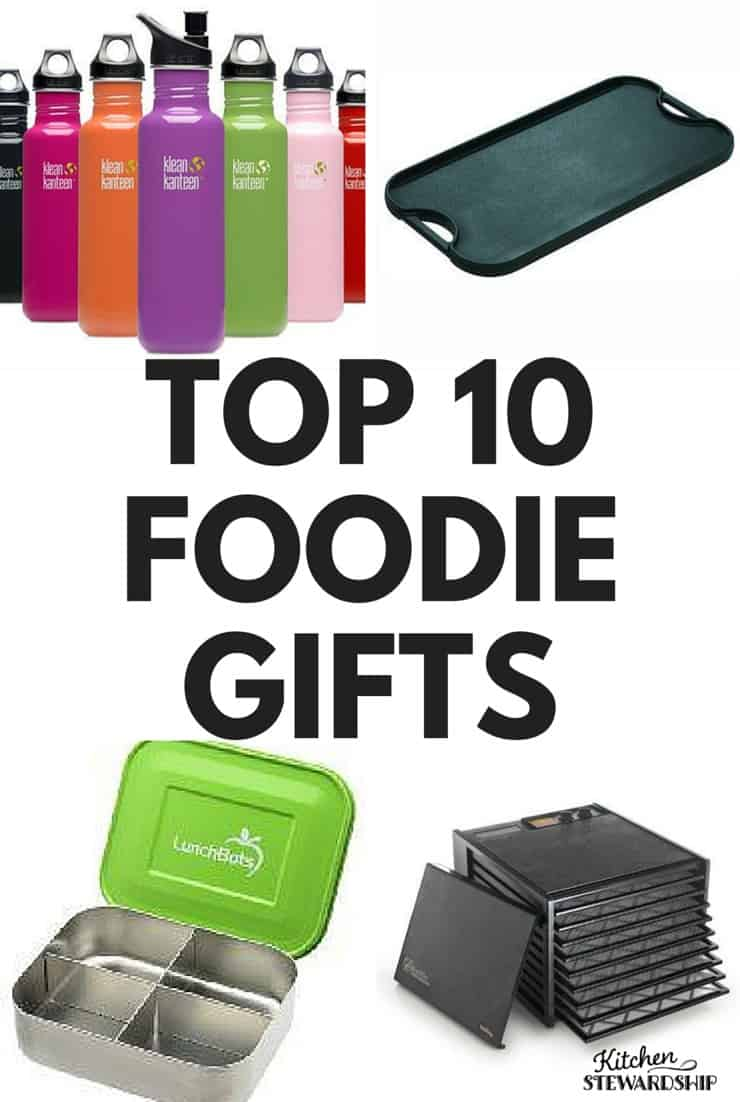 TOP 10 FOODIE GIFTS pinterest