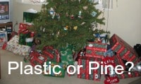 Plastic or Pine? The Eco-Christmas Tree Debate