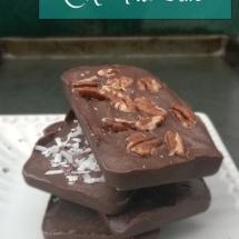 Homemade Healthier Chocolate Bars – Naturally Sweetened