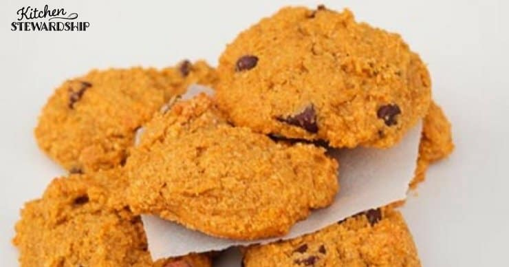 Soft and delicious, these simple, kid-friendly pumpkin cookies have a mere third teaspoon honey per cookie - but no one will know they're healthy but you!