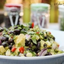 Black Bean and Avocado Starter Recipe