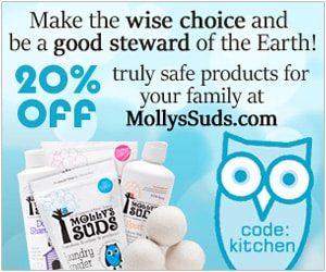 Mollys suds laundry soap