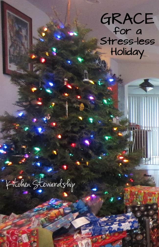GRACE for a Stress-less Holiday : via Kitchen Stewardship