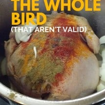 Monday Mission: Buy A Whole Chicken {Debunking 6 Objections to Buying A Whole Bird}