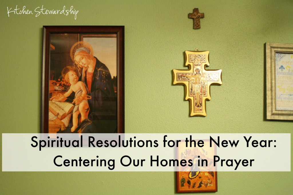 Spiritual Resolutions For The New Year Centering Our
